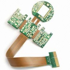 China Quick Turn 6 Layer Flex Rigid Flexible PCB ISO9001 / TS16949 Approved Supplier