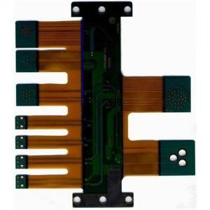 China Immersion Gold PCB 4 Layer 5 Layer Rigid Flex Board ISO9001 / TS16949 Supplier