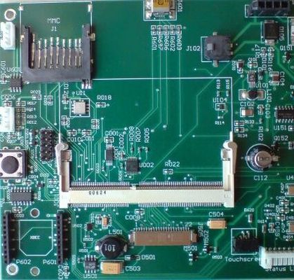 China Consumer Immersion Gold Prototype PCB Assembly 8 Layer OEM PCBA Supplier
