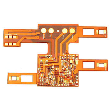 China 3mil Polyimide FPC Flexible Printed Circuit Board 4 Layer AC500V Supplier