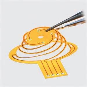 China Single Sided Flexible Circuit  PET Material Flex Printed PCB Board Supplier