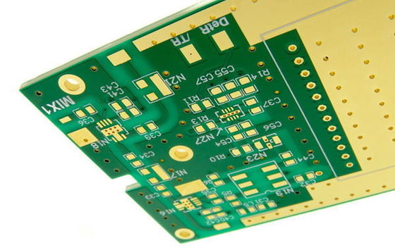 China Printed PCB Boards With 6 Layers Diagram Immersion Gold Finished Assembly Supplier