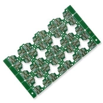 China Model HSPCB1648 OEM / ODM Rigid Double Side PCB Assembly Green Solder Mask Supplier