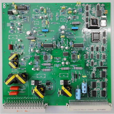 China Sales At Huaswin PCB Assembly White Silkscreen FR4 Material Green Solder Mask Supplier