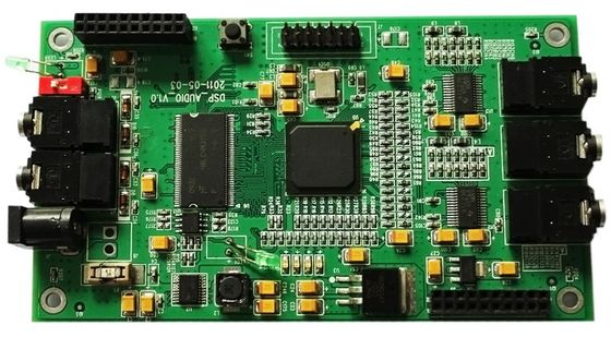 China OEM / ODM Multilayer PCB Board Green Solder Mask Immersion Gold 1.6mm Thickness Supplier