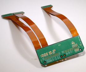 China PCB Assembly Rigid Flex Circuit Board FR4 + Polyimide Material Supplier