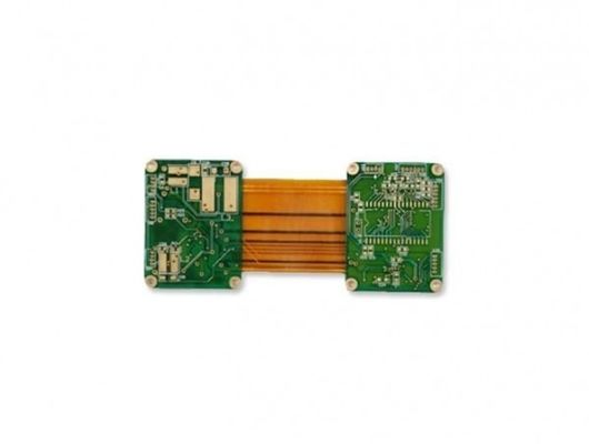 China Multilayer Rigid Flex PCB Assembly Green Solder Mask Circuit Board Thickness 1.6mm Supplier