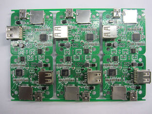 China Customized Double Sided PCB / PCBA 43*35mm ENIG Surface Finishing Copper 1OZ Supplier