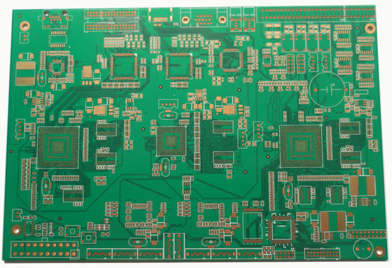 China 1-30 Layers FR4 Multilayer PCB Glass Reinforced Hydrocarbon Amplifier ENIG Silver /  Gold White Legend Supplier