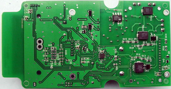 China Multilayer FR4 PCB Finished Green Solder Mask Apply To Consumer Electronics Medical Supplier