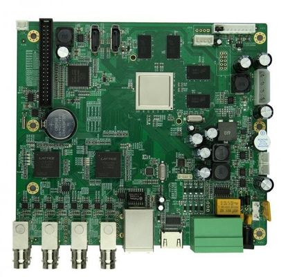 China Fully Turnkey PCB Assembly Services FR4 Material Copper 1OZ HASL Surface Finish Supplier