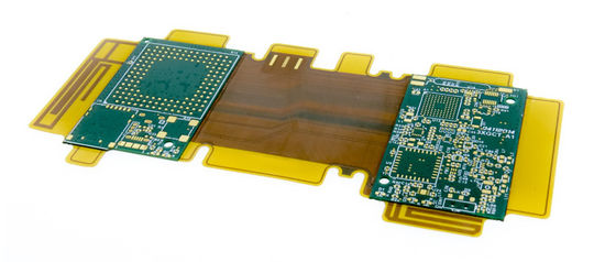 China PCB Rigid Flex Assembly FR4 Polyimide Material Single Double Sided HASLSurface Finishing Supplier