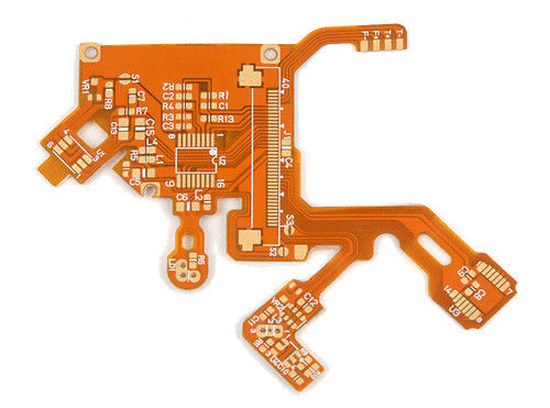 China Flexible Multilayer Printed Circuit Board W/1-12 Layer Polyimide Material Coverlay Solder Mask Supplier