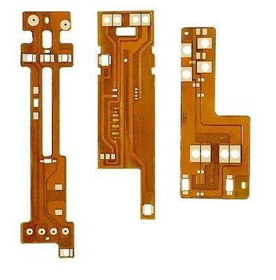 China Flexible Circuit Double Sided PCB Boar W / Yellow Solder Mask ENIG Surface Finish Supplier