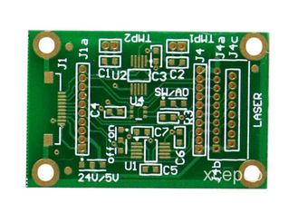 China FR4 Material Double Sided PCB Board 2- Layers Hasl Surface Finish Green Solder Mask Supplier