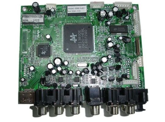 China Hand HASL Remote Control PCB Assembly Services with In Circuit Testing Supplier