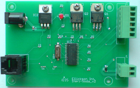 China Custom Made Circuit Board Assembly LED PCB Board , ISO 9001 Approvals Supplier