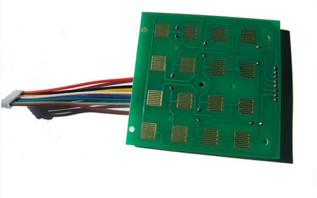 China Immersion Gold Keyboard PCB Printed Board Assembly with Wires Supplier
