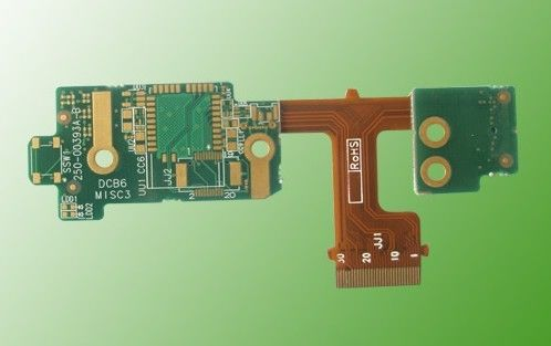 China Multilayer Impedance Controlled PCB Rigid Flexible PCB Custom Made Supplier