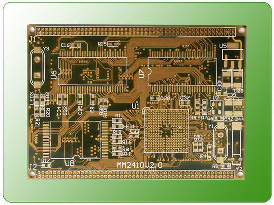 China 14 Layer Immersion Gold PCB Printed Circuit Boards and Impedance Control PCB Supplier