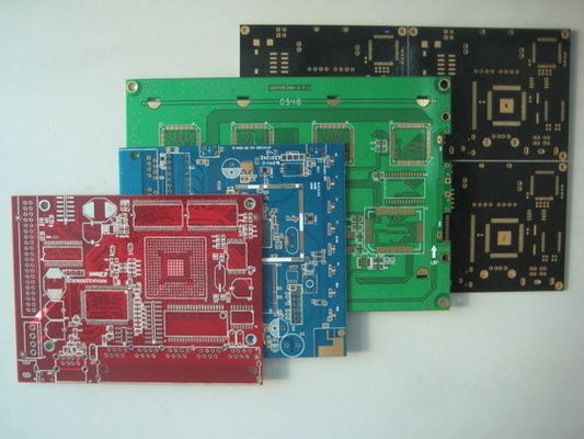 China Red / Black Quick Turn Printed Circuit Boards 2 Layer PCB Expedited Service Supplier