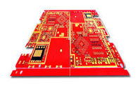 Good Quality Custom FR-4 Red Solder Mask Double Sided Pcb Design 6 Layers Fabrication Suppliers