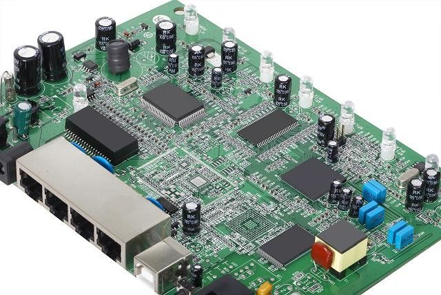 Professional Rigid PCB Circuit Board Assembly 4- Layers SMT Through