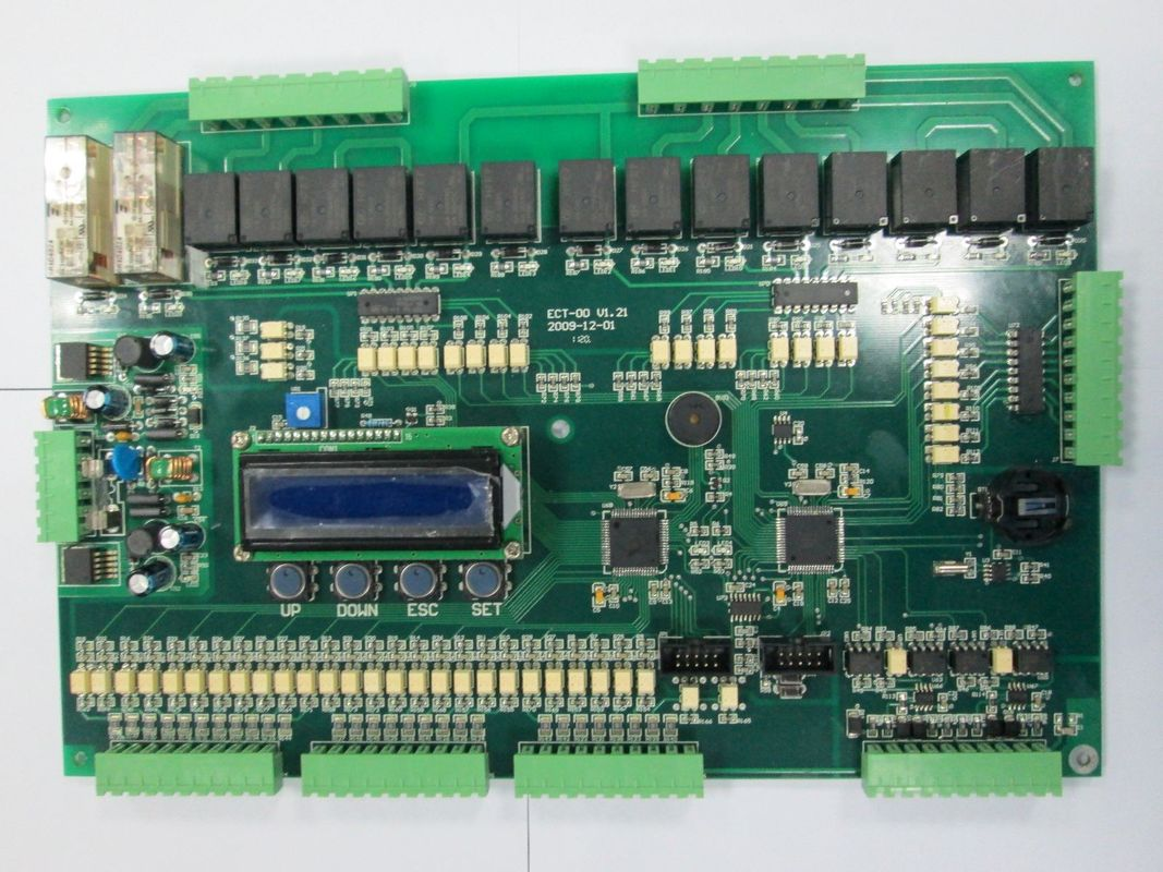 Professional Rigid Elevator Pcb Printed Circuit Board Doublesided Boards Assembly 02mm 6mm