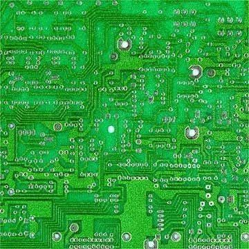 Professional Multilayer Green Solder Mask PCB 6 Layer , White