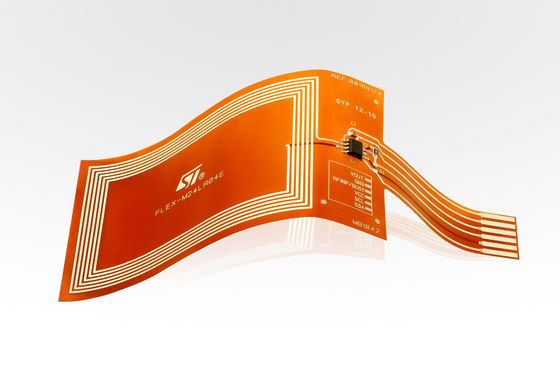 Good Quality Polyimide Material Flexible PCB With 2 layers  Finished Copper 1OZ Suppliers