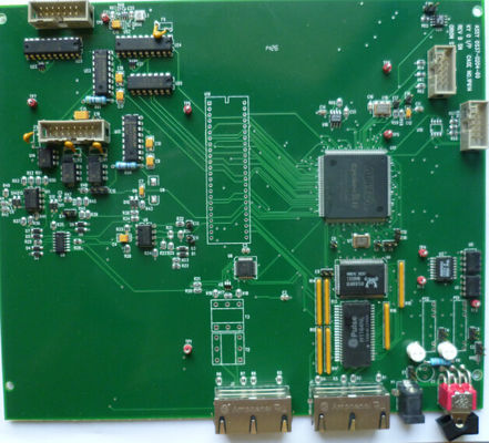 Good Quality Green 4 Layer PCB Board Assembly High Speed PCB with ROHS Directive Suppliers
