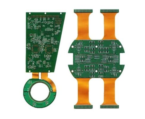 Immersion Gold Keyboard PCB Rigid Flex Circuit Boards Customized
