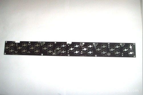 Good Quality Black Solder Mask 94vo Aluminium PCB Board With OSP Surface Finishing Suppliers